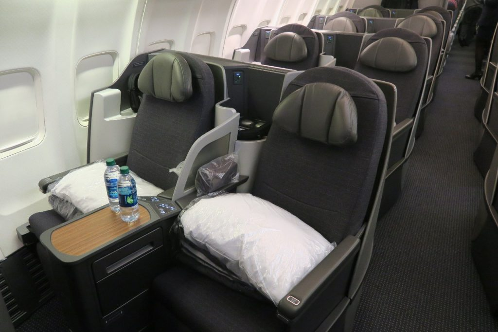 American Airlines Boeing 757-200 Business Class Seats Photos