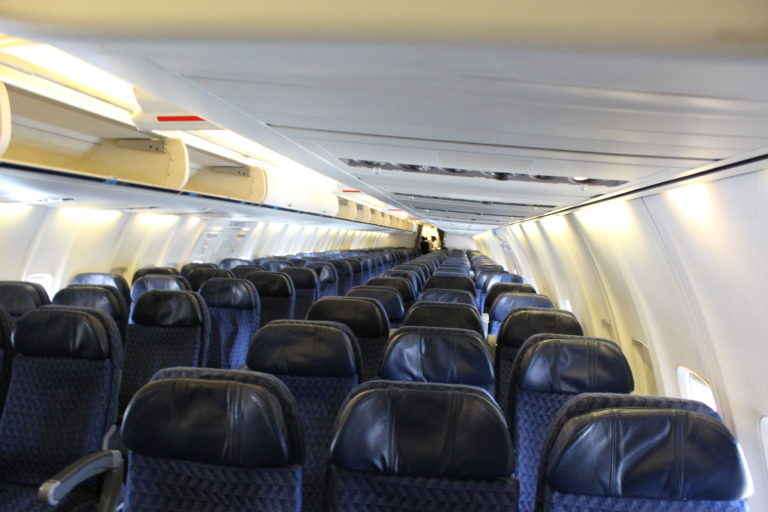 American Airlines Boeing 757-200 Main Cabin Seats Configuration