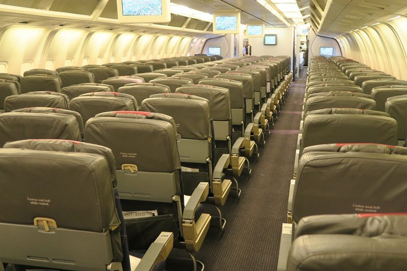 American Airlines Boeing 767-300 Main Cabin Economy Class Photos