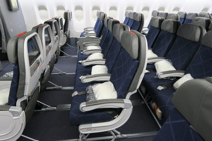American Airlines Boeing 777-200ER Main Cabin Extra Photos