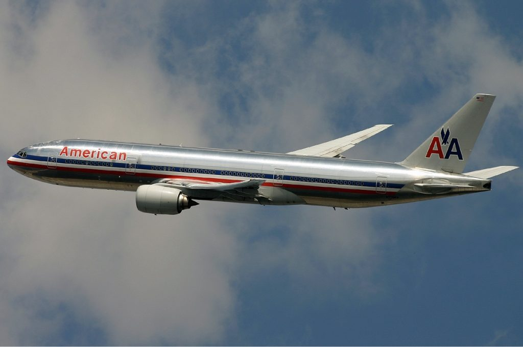 American Airlines Boeing 777-200ER Monty Photos