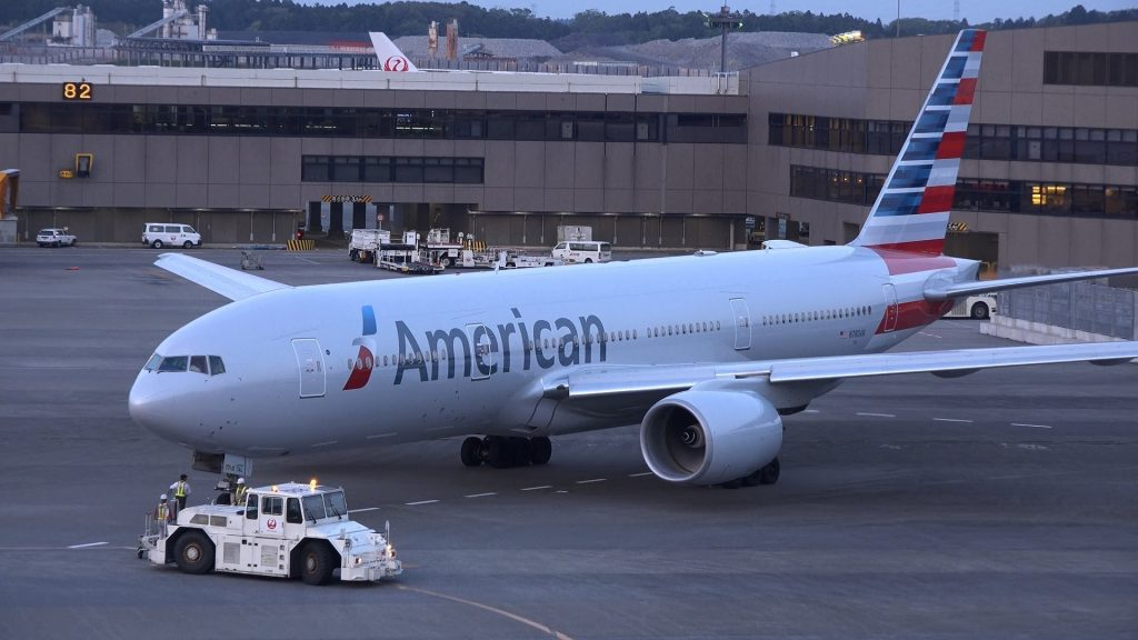 American Airlines Boeing 777-200ER N780AN Pushback Photos [NRT:RJAA]