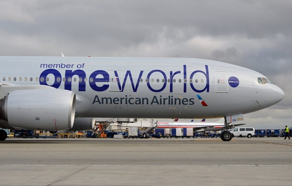 American Airlines Boeing 777-200ER One World Livery Photos