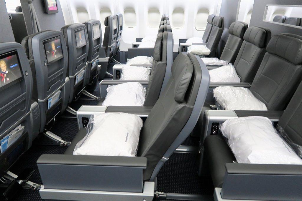 American Airlines Boeing 777-200ER Premium Economy Seating Configuration