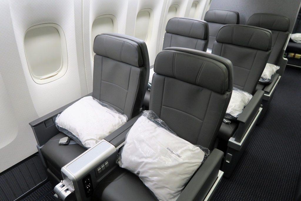 American Airlines Boeing 777-200ER Premium Economy Seats Photos