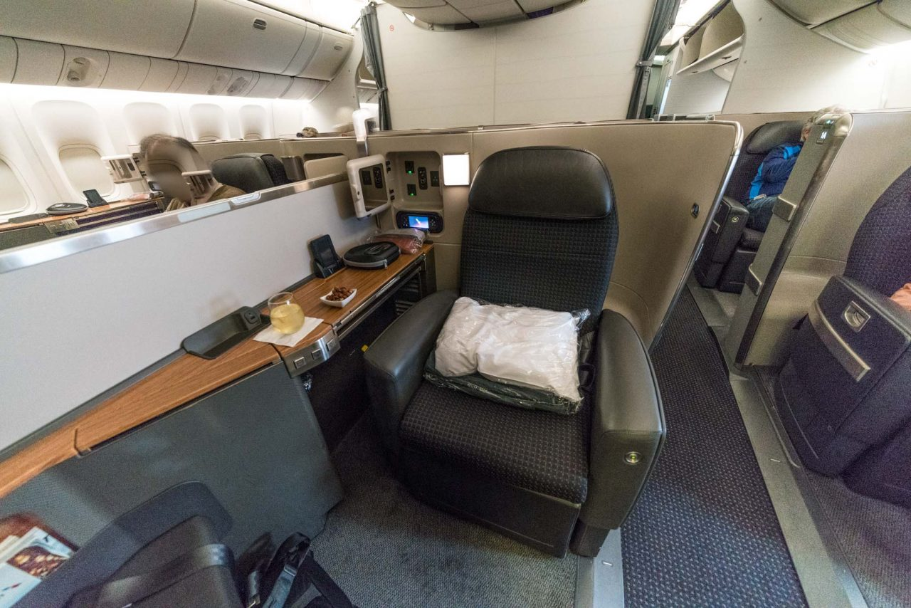 American Airlines Boeing 777 300er First Class Review