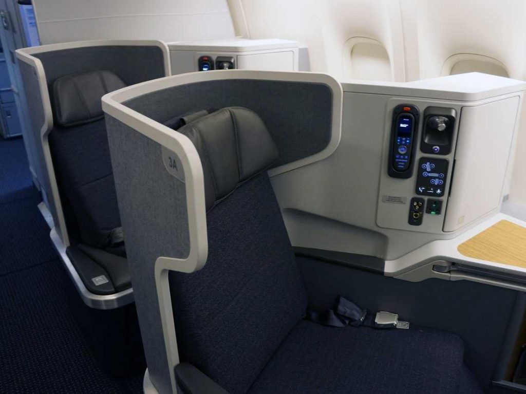 American Airlines Boeing 777-300ER Inaugural Business Class Seats
