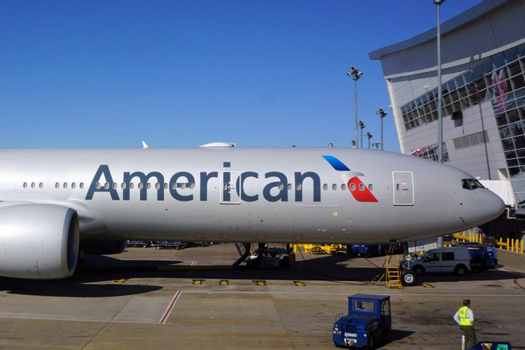 American Airlines Boeing 777-300ER Inaugural Flight Photos