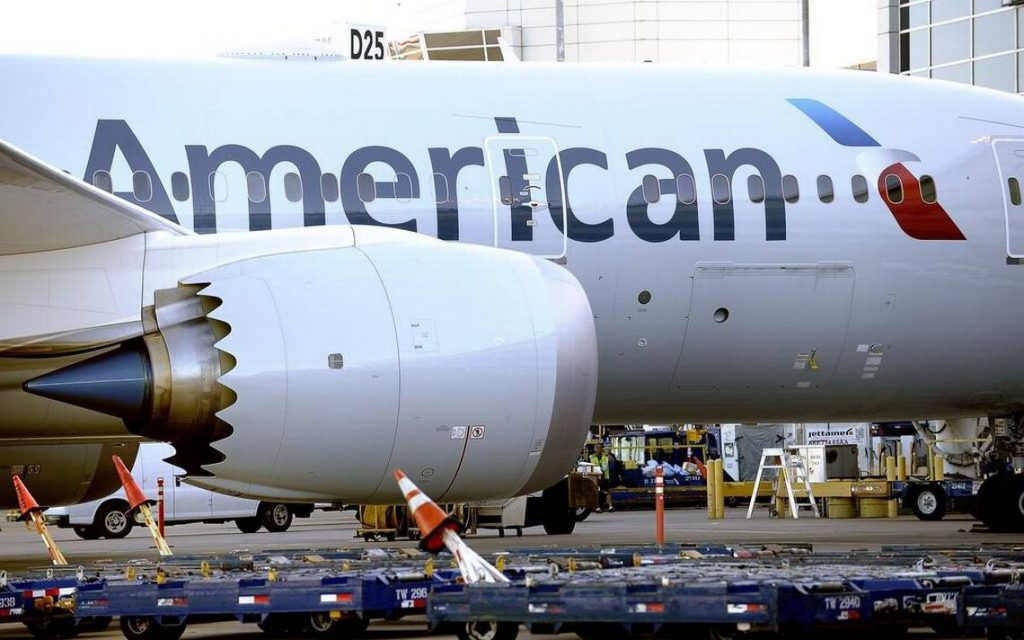 American Airlines Boeing 787-8 Dreamliner Engines Photos