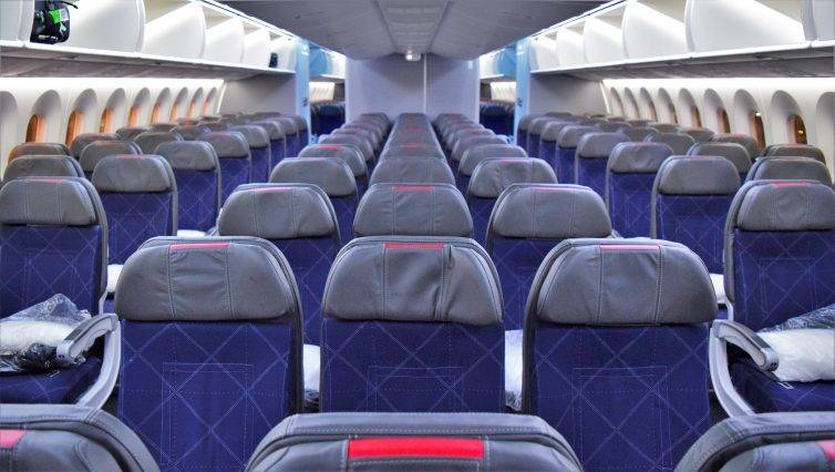 American Airlines Boeing 787-8 Dreamliner Main Cabin Economy Photos