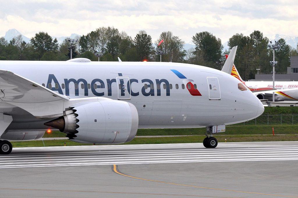 American Airlines Boeing 787-8 Dreamliner N805AN - PAE