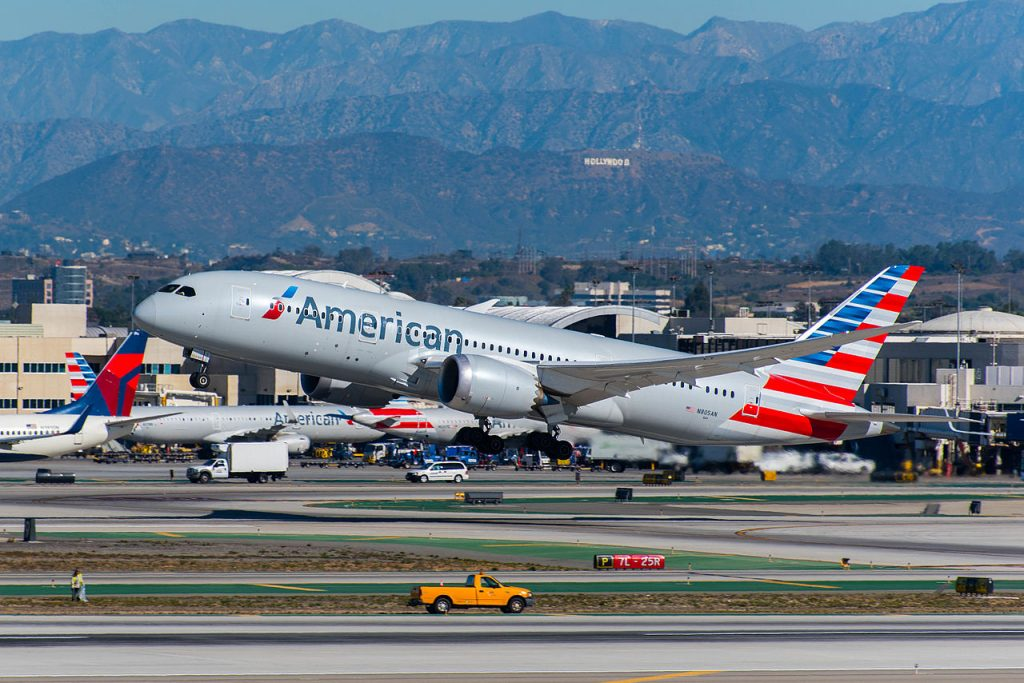 American Airlines Boeing 787-8 Dreamliner (N805AN) at LAX