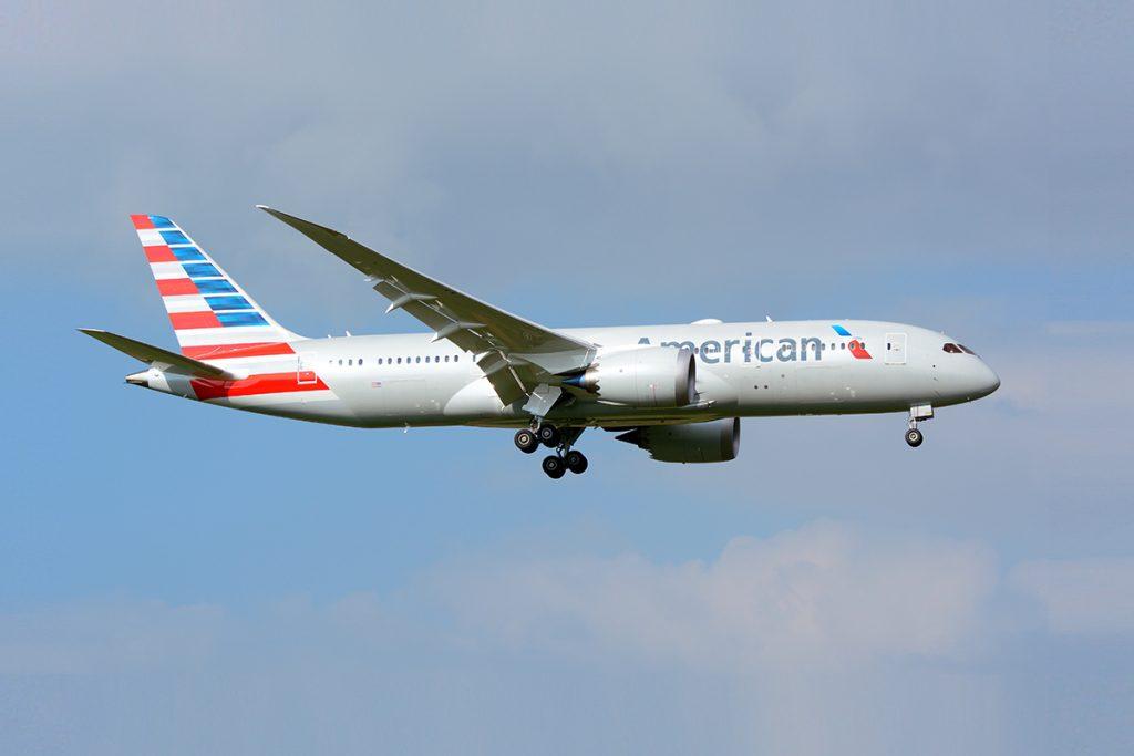 American Airlines Boeing 787-8 Dreamliner N807AA NRT