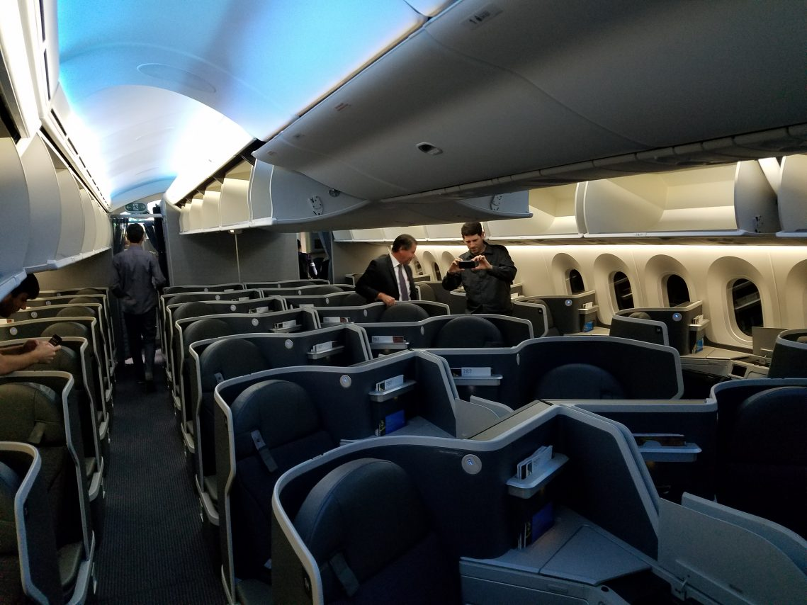 American Airlines Boeing 787 9 Dreamliner Business Class