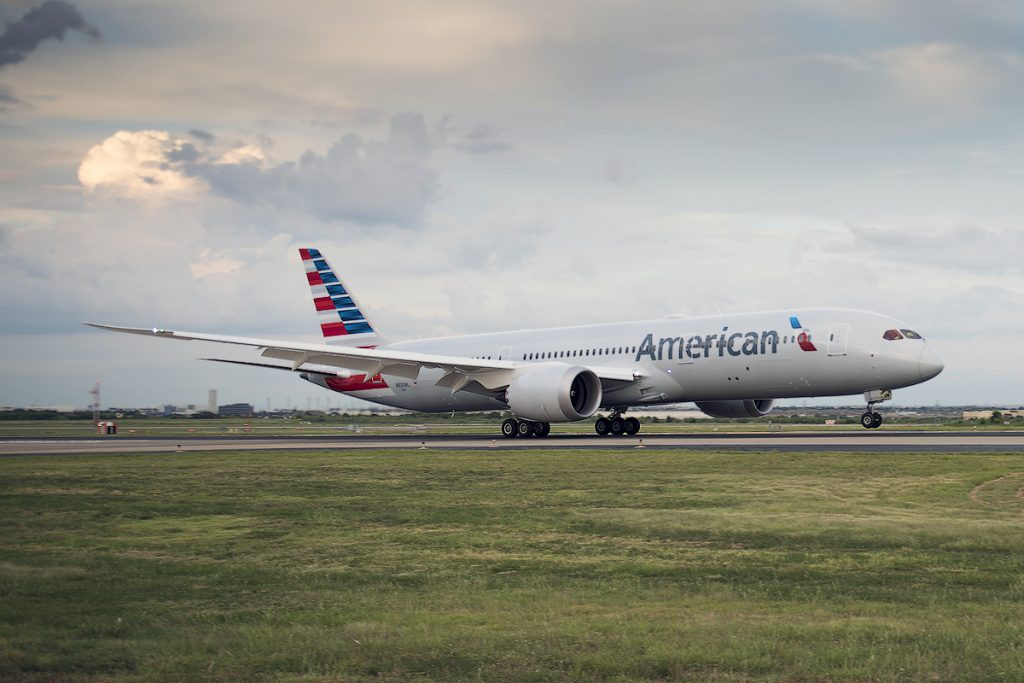 American Airlines Boeing 787-9 Dreamliner Delivery Flight Photos