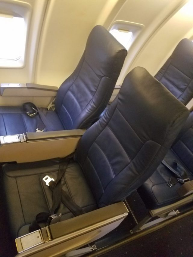 American Airlines Bombardier CRJ-200 Economy Seats Photos