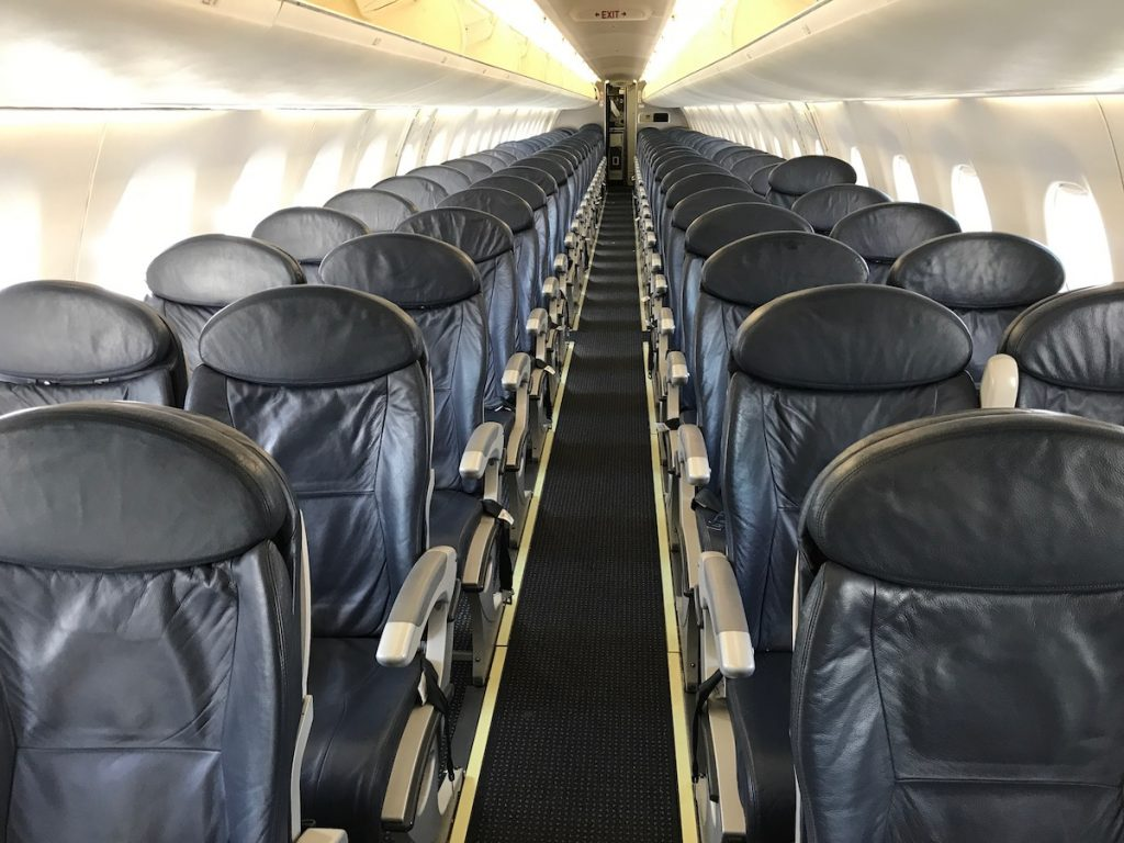 American Airlines Embraer E190 Main Cabin Extra Interior Photos