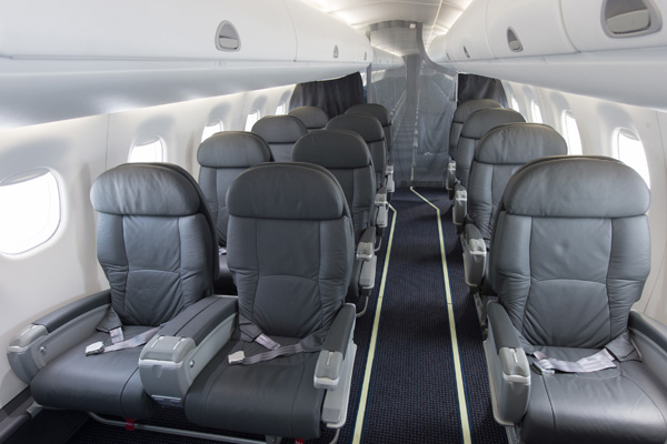 American Airlines Embraer E190 First Class Cabin Photos
