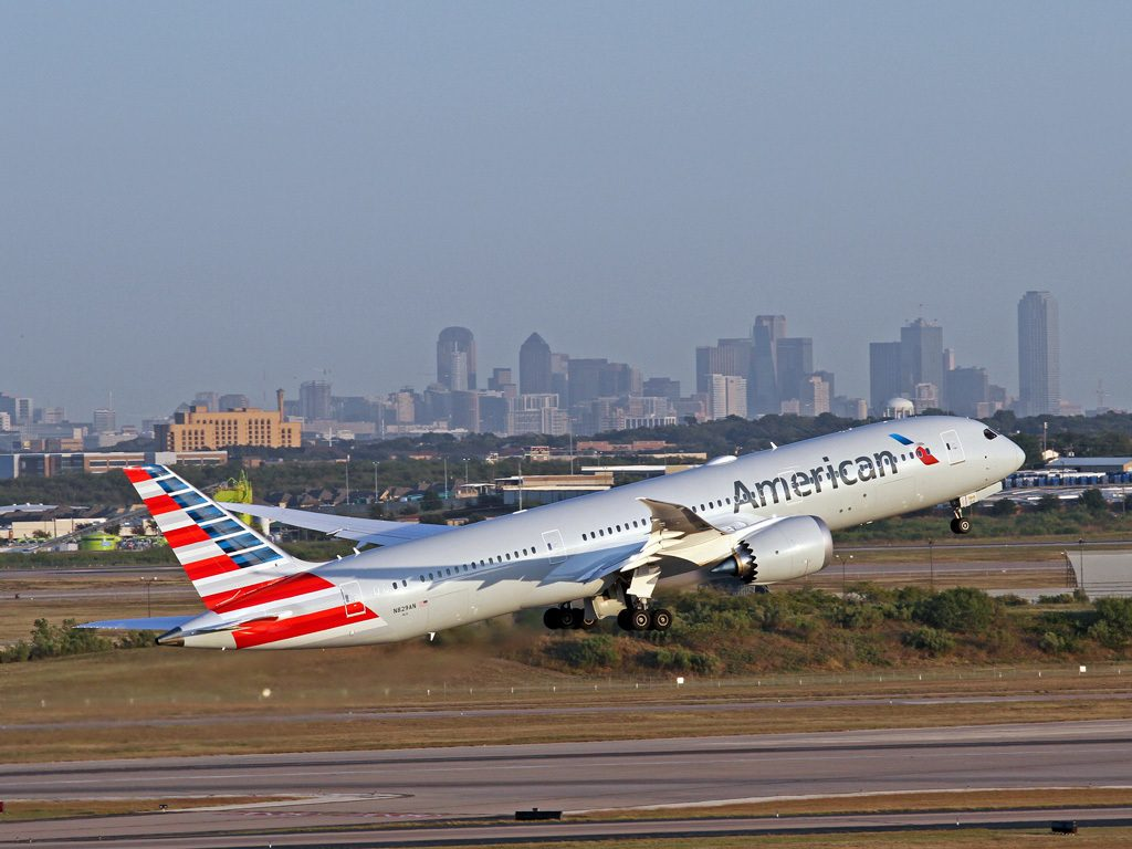 American Airlines Fleet Boeing 787-9 Dreamliner (N829AN)