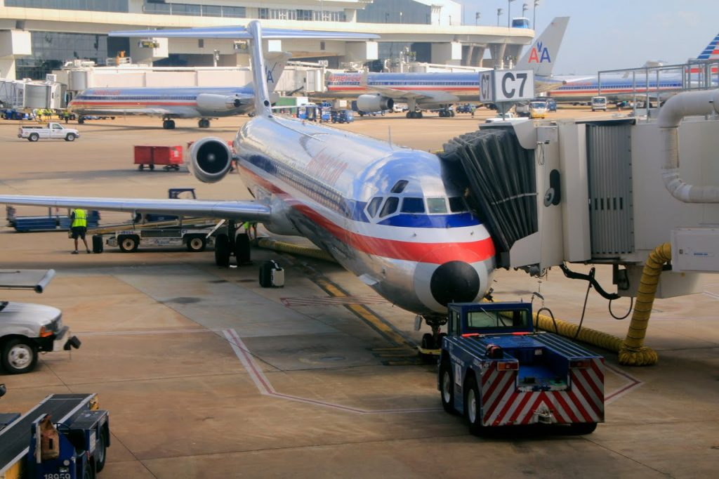 American Airlines | MD80 | DFW-LAS | First Class