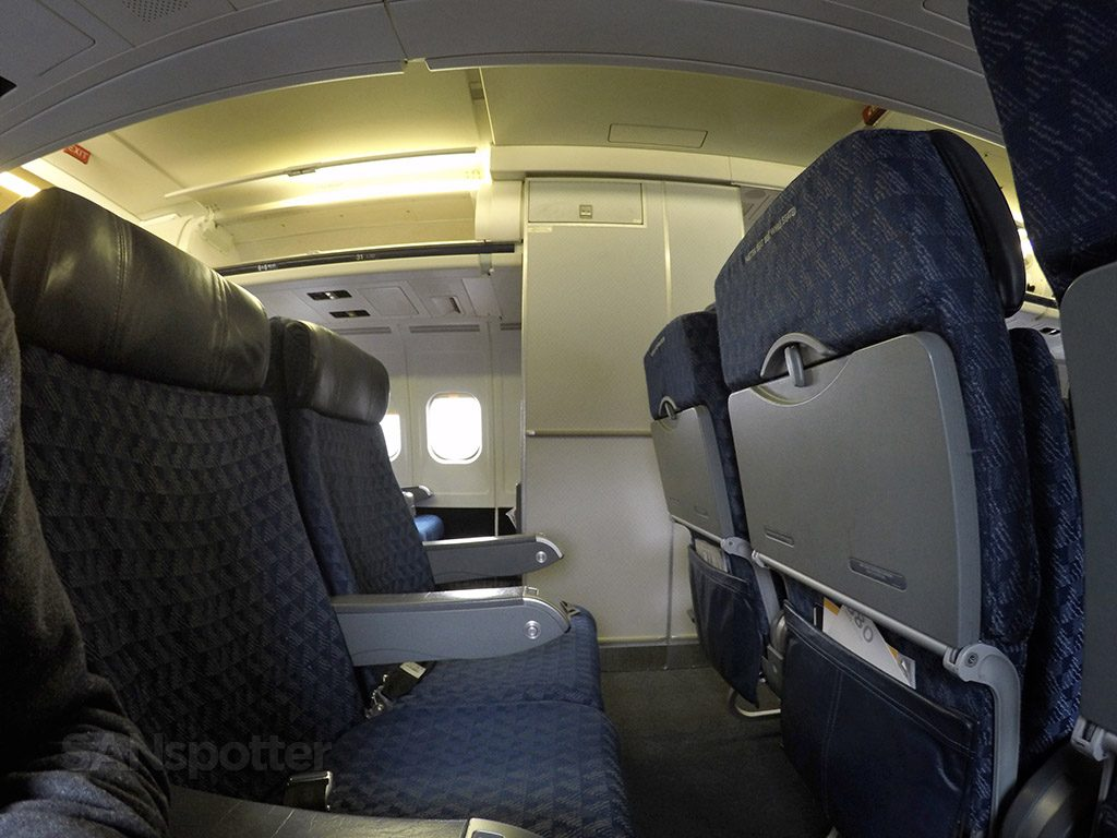 American Airlines McDonnell Douglas MD-80 (MD83) Main Cabin Seats Photos @SANspotter