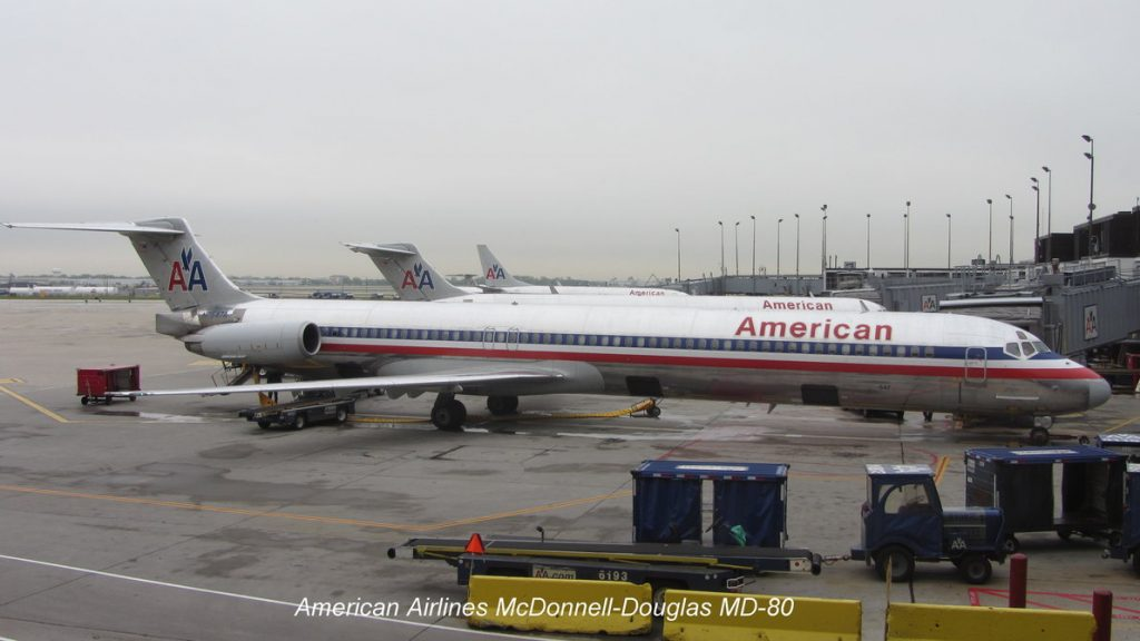 American Airlines McDonnell Douglas MD-80 Passenger Boarding