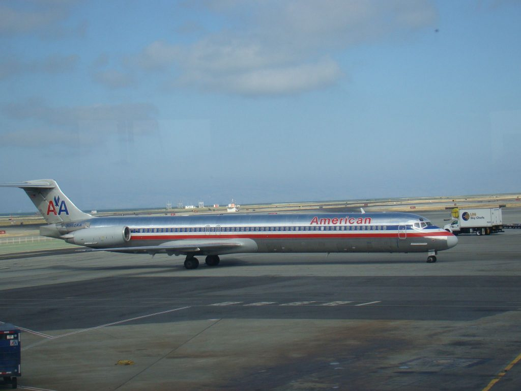 American Airlines McDonnell Douglas MD-80 SFO