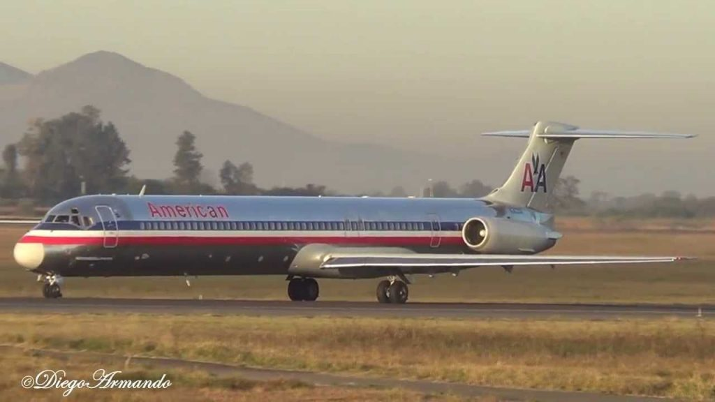 American Airlines Old Aircraft McDonnell Douglass MD-80 @Diego Armando