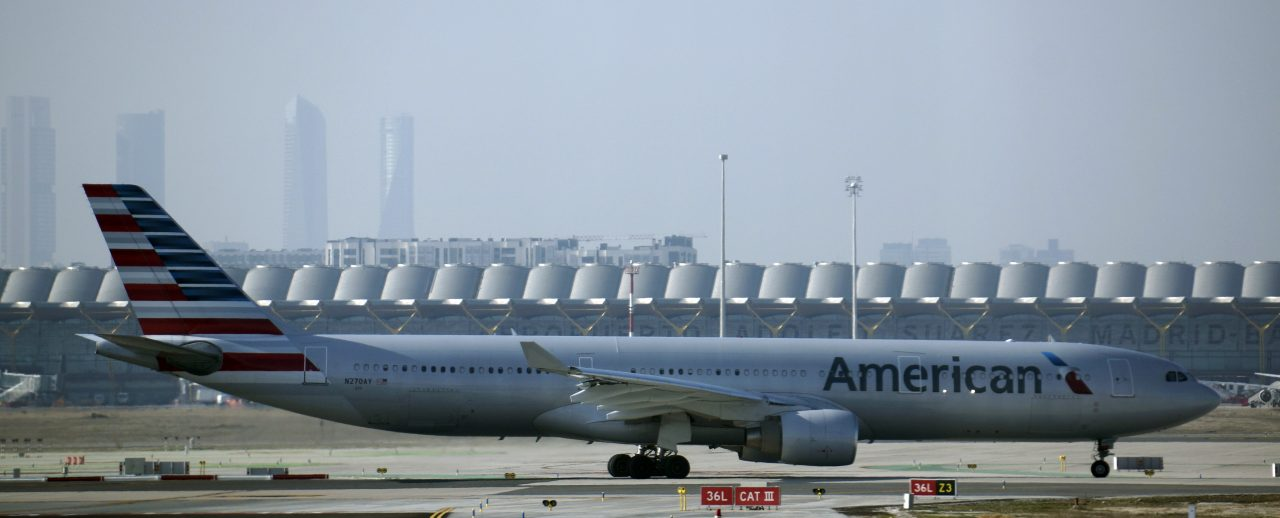American Airlines Wide Body Aircraft Airbus A330-300 N270AY