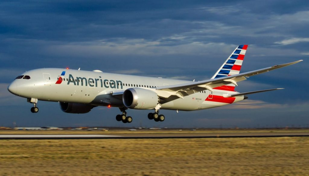American Airlines Wide Body Aircraft Boeing 787-8 Dreamliner Photos