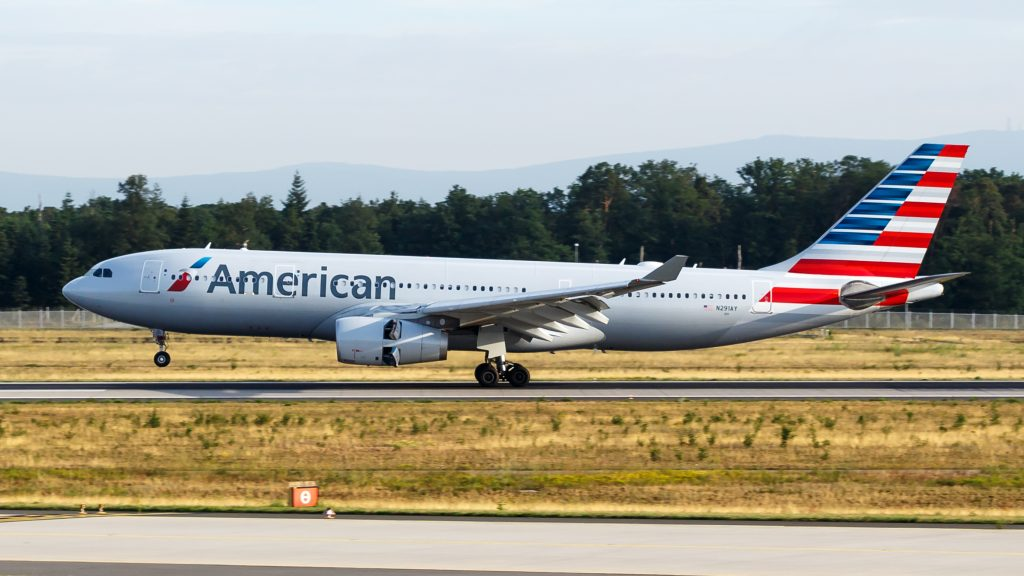 American Airlines Wide Body Fleet Airbus A330-200 (N291AY) at Frankfurt Airport
