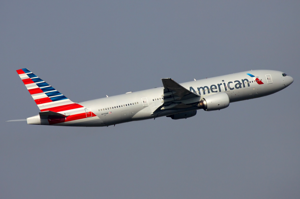 American Airlines Wide Body Fleet Boeing 777-200ER