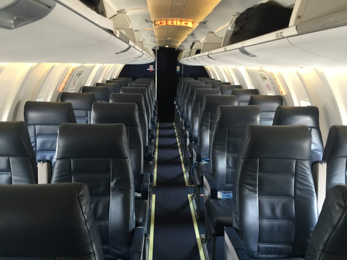 American Eagle Airlines Bombardier CRJ-200 Main Cabin Economy Class Seating Chart