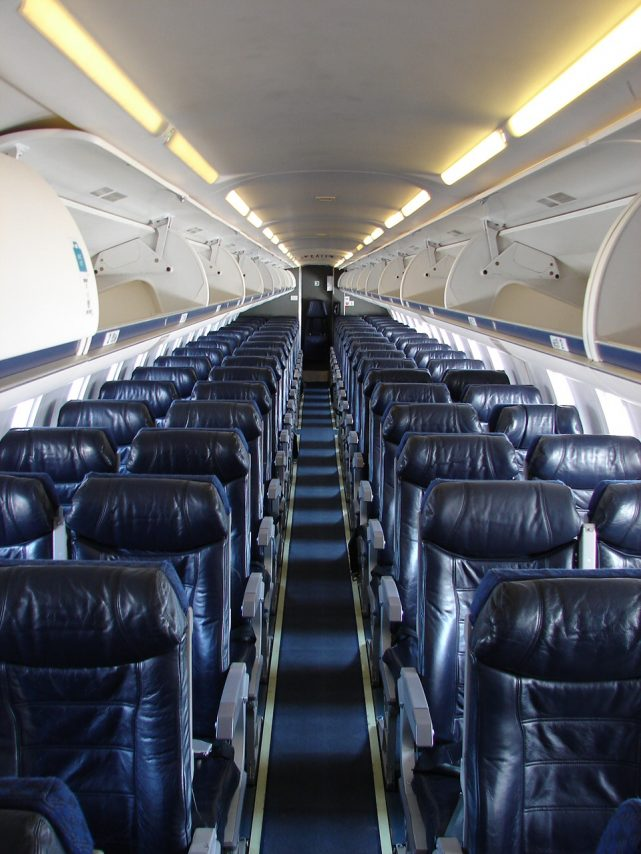 American Eagle Airlines Bombardier CRJ-700 Main Cabin Economy Class Seats
