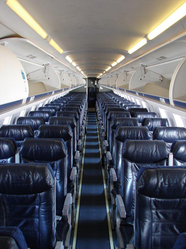 American Eagle Airlines Bombardier CRJ-700 Main Cabin Economy Class Seats
