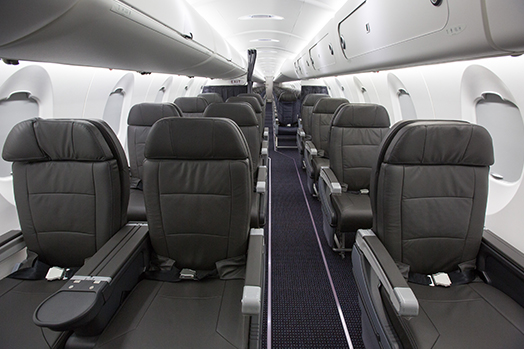 American Eagle Airlines Bombardier CRJ-900 Main Cabin Standard Economy Seating Row