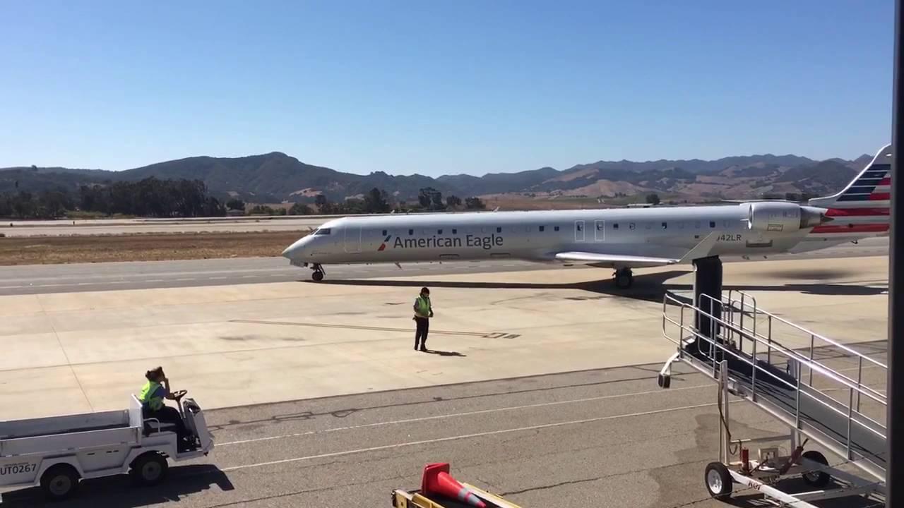 American Eagle Airlines Bombardier CRJ-900 N942LR San Luis Obispo