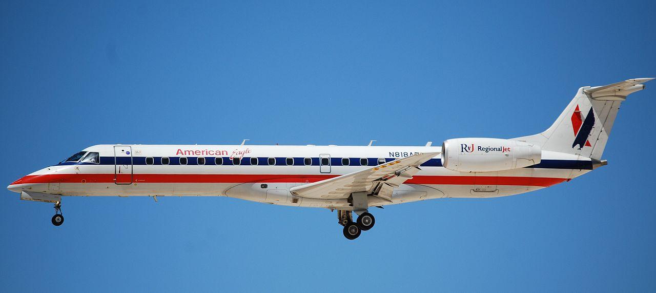 American Eagle Airlines ERJ-140 LR N818AE Regional Jet