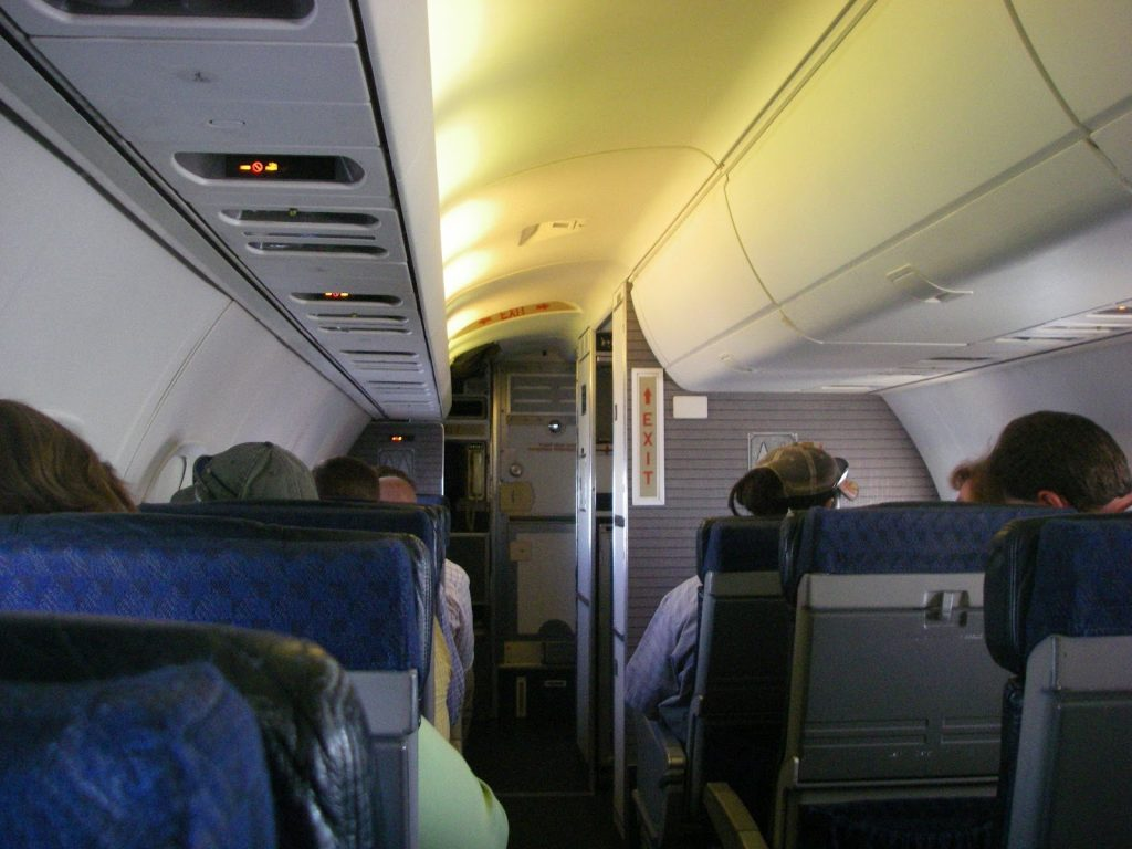 American Eagle Airlines Embraer ERJ-140 Cabin Seating Configuration Photos
