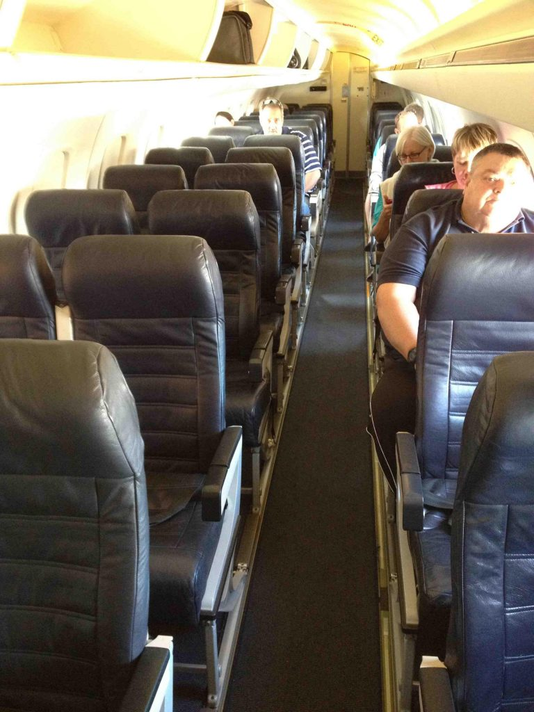 American Eagle Airlines Embraer ERJ-145 Main Cabin Seating Configuration Photos