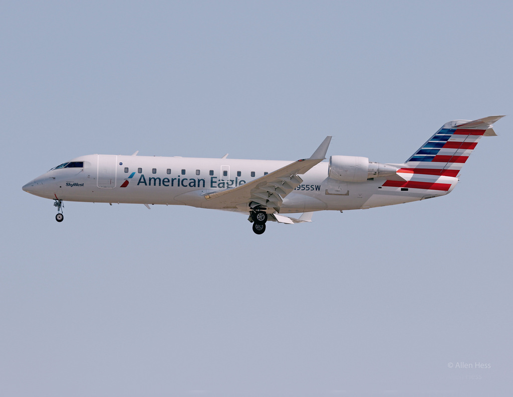 American Airlines Fleet Bombardier CRJ-200 Details and Pictures