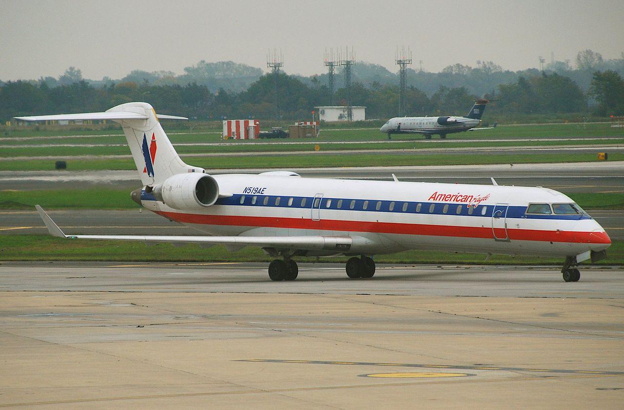 American Eagle Canadair Bombardier CRJ 700 N519AE @PHL