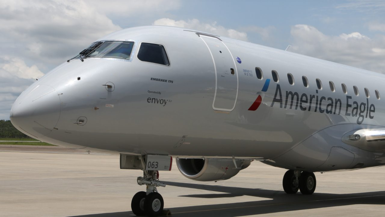 American Eagle (Envoy Air) Embraer E175 Aircraft Photos