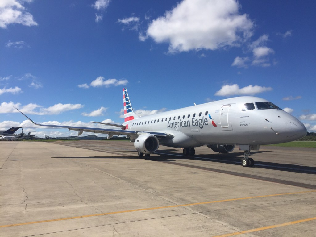 American Eagle (Envoy Air) Embraer E175 aircraft delivery photos