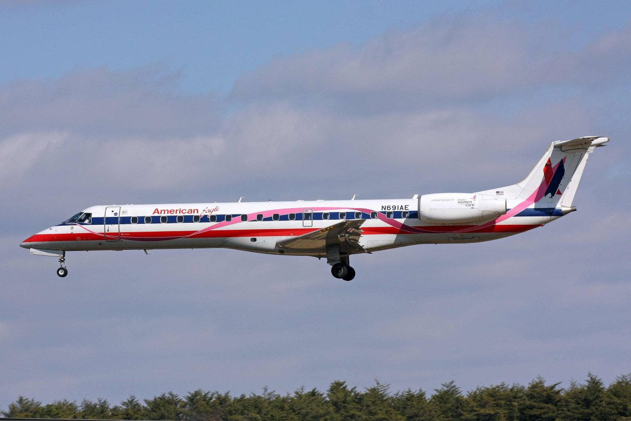 American Eagle (Envoy Air) Embraer ERJ-145 N691AE at BWI Airport