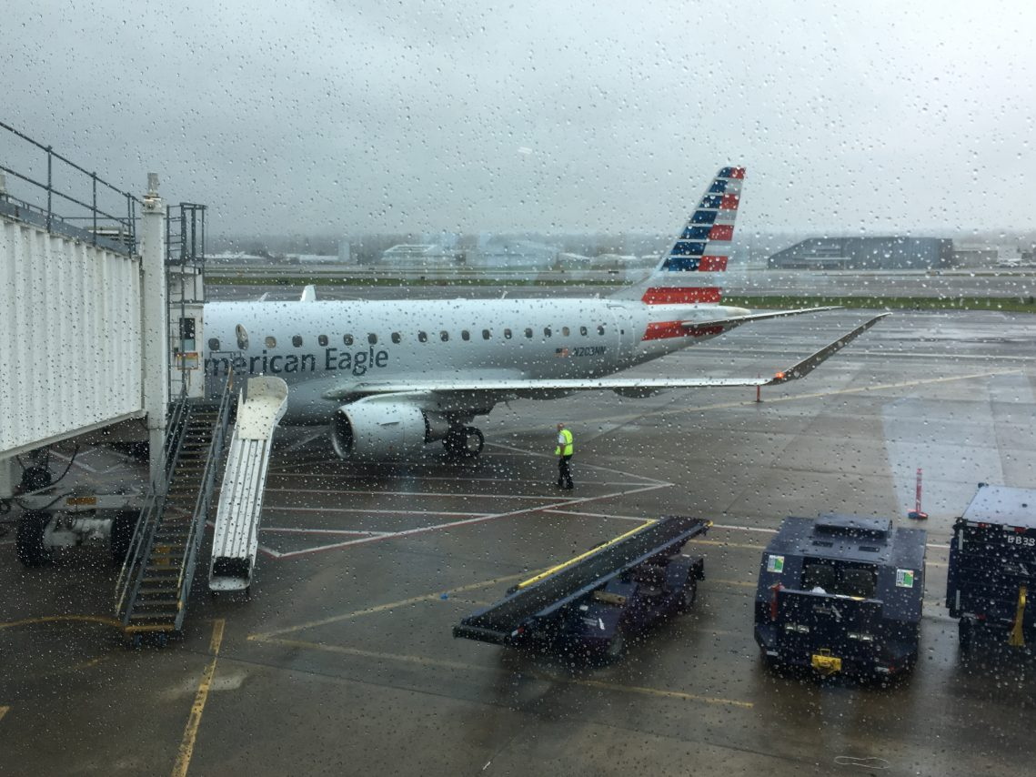 American Eagle Flight 6025 Embraer E175 N203NN Operated by Compass Airlines Portland (PDX) to Los Angeles (LAX)