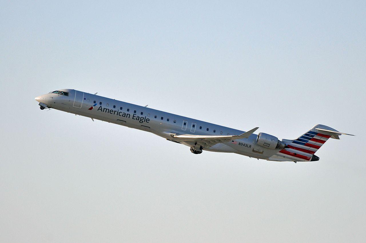 American Eagle Mesa Airlines, Canadair CRJ-900, N943LR - LAX