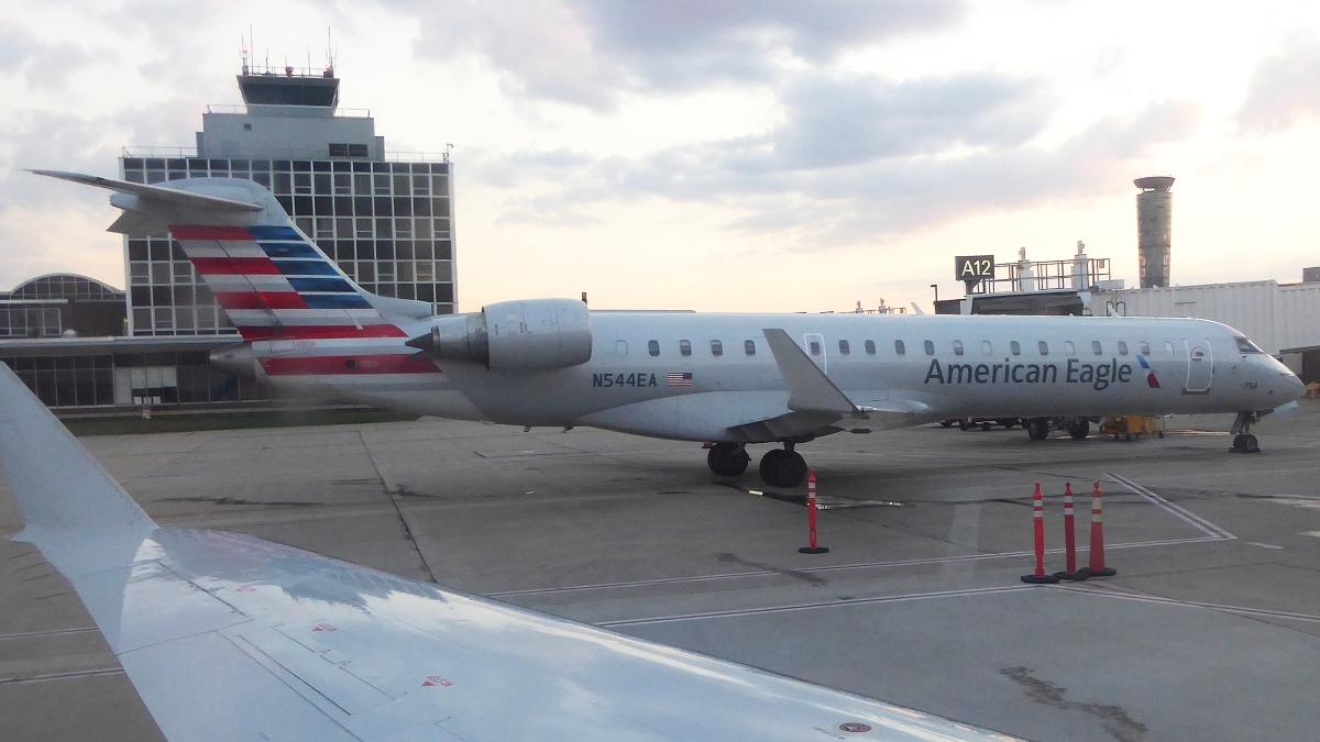 American Eagle PSA Airlines Bombardier CRJ-700 ER N544EA