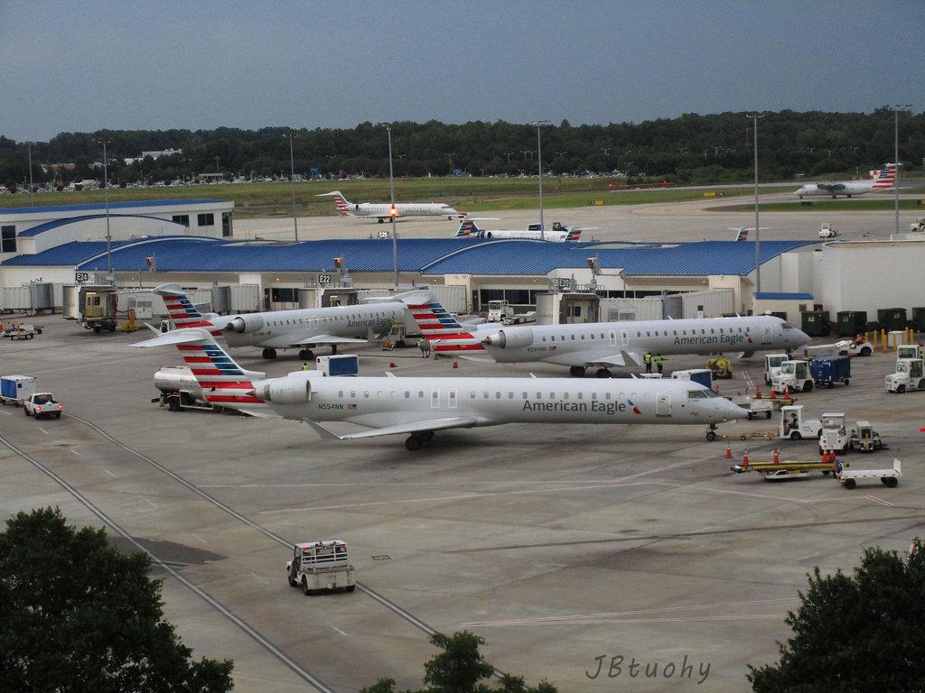 American Eagle (PSA Airlines) ~ Bombardier CRJ-900 ~ N554NN @JBtuohy