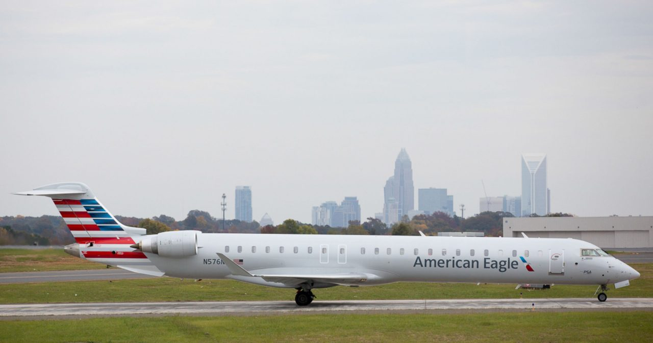 American Eagle PSA Airlines Bombardier CRJ-900 N576NN Regional Jet Photos
